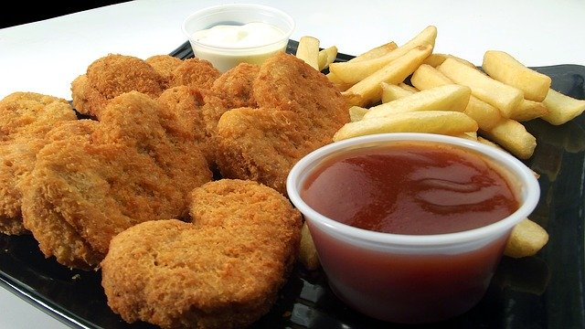 Image of Childrens Chicken Nuggets and Chips